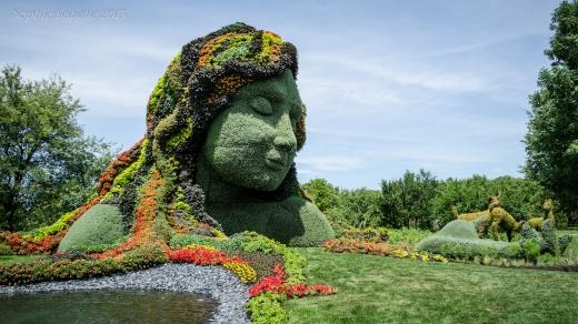 Mosaïcultures internationales de Montréal - Montreal Botanical Garden - Jardin Botanique de Montréal - Sophie Labelle