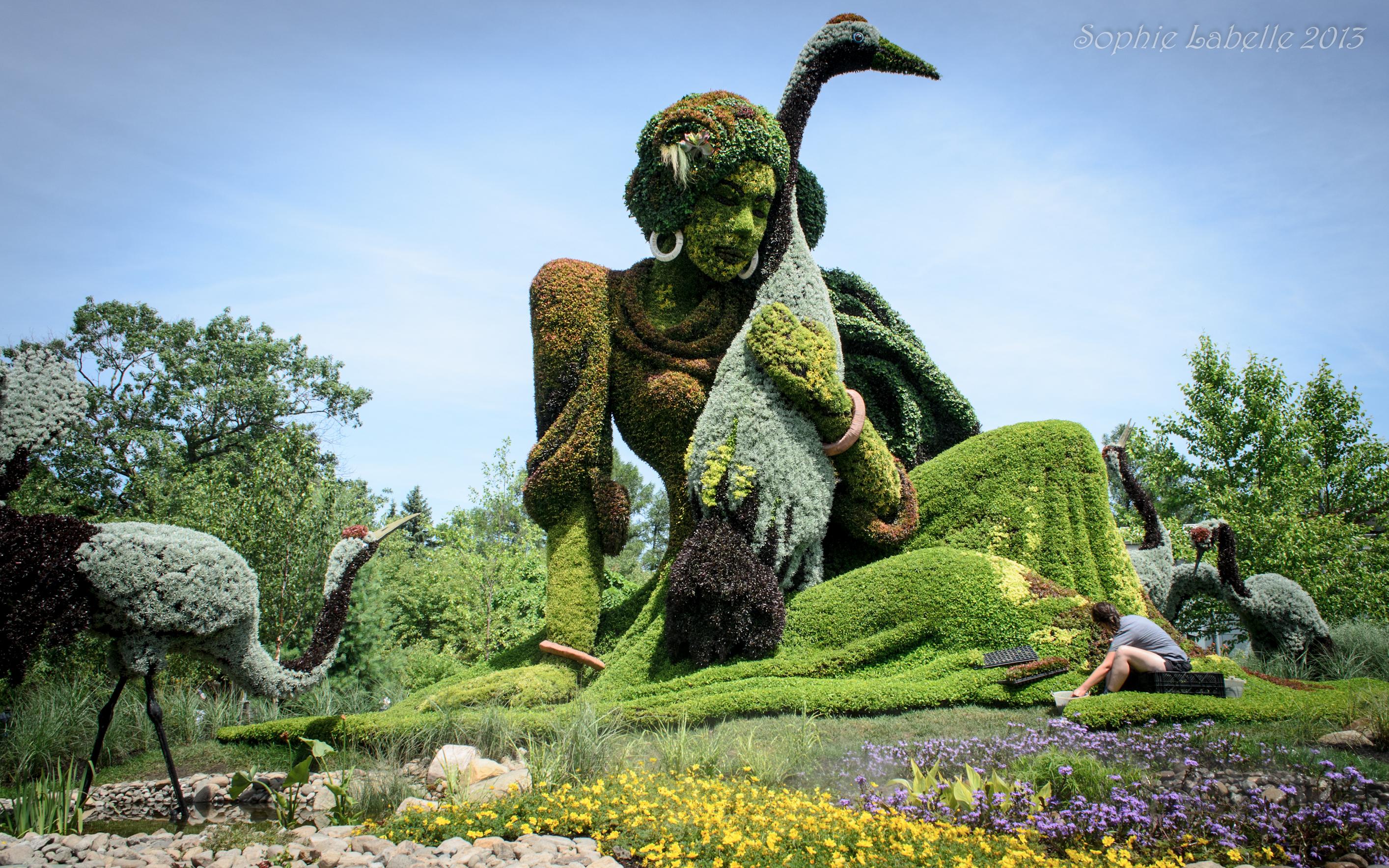 Mosa cultures internationales de montr al montreal for Jardin botanique de conception